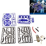 LUQUAN Diy Spider Robot Educational Toy For Kids - Blue & Gray