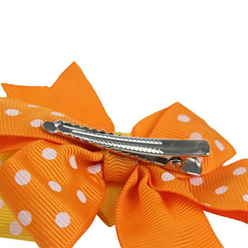 Ribbon Boutique Hair Bows Clips DIY Flower Snap Hair Pins