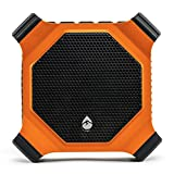 ECOXGEAR EcoDrift Rugged & Waterproof Wireless Bluetooth Speaker with Integrated Siri & Google voice control - Orange