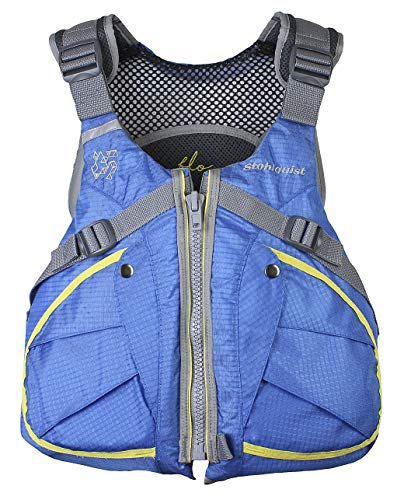 - Stohlquist Women's Flo Life Jacket/Personal Floatation Device (Turquoise, X-Small/Small)