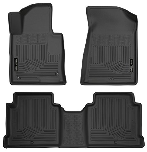 - Husky Liners Front & 2nd Seat Floor Liners Fits 15-18 Sonata, 16-18 Optima