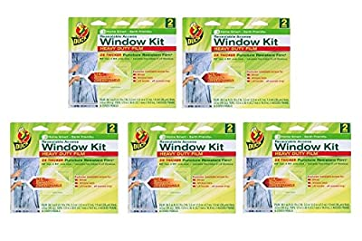 Duck Brand Shrink Film Window Access Kit, 2 count (Pack of 5)