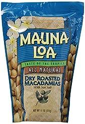 Mauna Loa Macadamias, Dry Roasted with S...