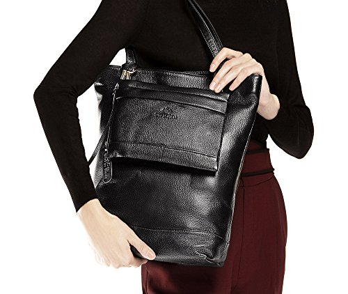35x36 Weight Dimension Fits Grain Black kg Leather Shopper 0 cm Yes 9 Wittchen A4 nqYA4Wx