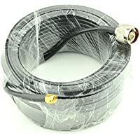 RF design RF coaxial coax cable assembly N male to SMA male RG58 cable Antenna Extension Cable 49ft