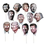 Fun Express - Presidents Day Stick Props - Apparel Accessories - Costume Accessories