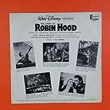 ROBIN HOOD Walt Disney DQ 1249 LP Vinyl VG+ Cover VG