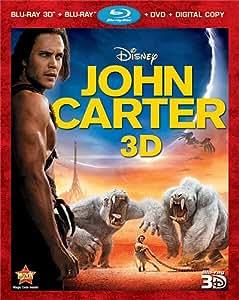 John Carter [Blu-ray 3D + Blu-ray + DVD + Digital Copy]