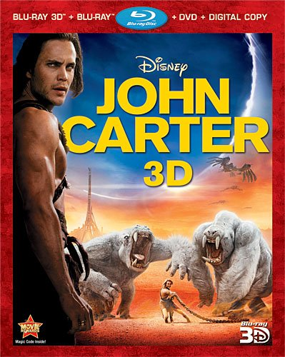John Carter (Four-Disc Combo: Blu-ray 3D/Blu-ray/DVD + Digital Copy) by Buena Vista