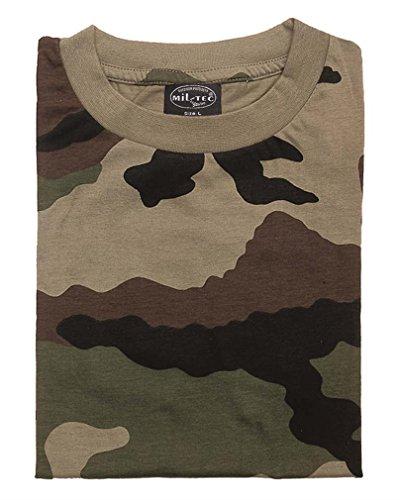 tec Camouflage Ce Army Mil T Us Camo Léger shirt 7wv1Cqx1z