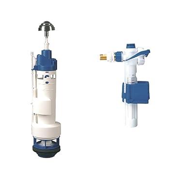 Lazer 110640 - Con doble botón de doble color, con válvula de flotador: Amazon.es: Bricolaje y herramientas