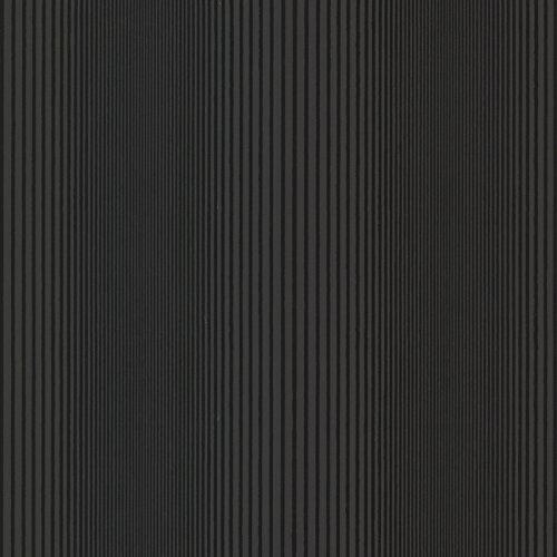 Warner HZN43042 Alpha Ombre Stripe Wallpaper, Black (Alpha Stripe)