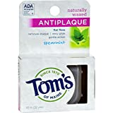 Toms Of Maine Natural Spearmint Antiplaque Flat Dental Floss, 32 Yard - 6 per case.