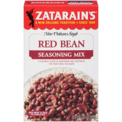 Zatarain's Red Bean Seasoning, 2.4 oz (Case of 12)
