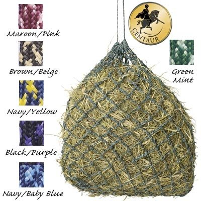 Equi-Essentials  Niblet Slow Feed Hay Net Trailer Black/Purple