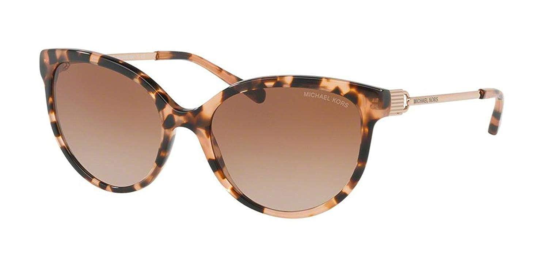 66927a77beb25 Amazon.com  Sunglasses Michael Kors MK 2052 F 315513 PEACH TORTOISE ROSE  GOLD  Watches
