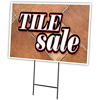 "ATM 12/""x16/"" Yard Sign /& Stake outdoor plastic coroplast window"