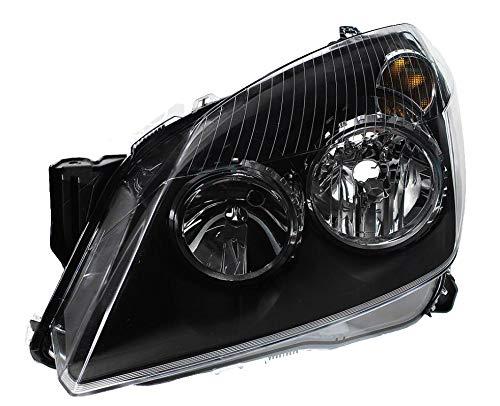 04-10 H7//H1 inkl Halogen Scheinwerfer Set Satz schwarz Astra H Bj Motoren