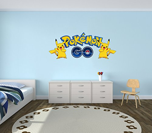 Pokemon-GO-Pikachu-Wall-Decal-Vinyl-Sticker-Art-Home-Decor-Iphone-Android-Game