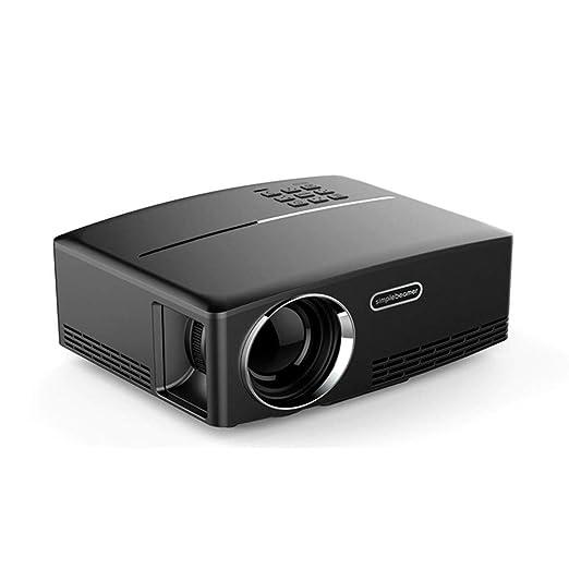 FengHeHaiLang Proyector portátil de Video 1200 lúmenes, Mini ...