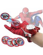 TOSSPER Spiderman Handske Avengers cosplay handske batman launchers superhjältar leksak hjältar launchers leksak barn leksaker