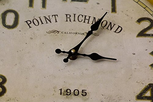 Home Comforts LAMINATED POSTER Clock Macro Point Richmond Deco Retro 1905 Old Poster 24x36 Decal Deco Point