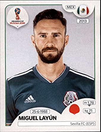 0a4ce68df 2018 Panini World Cup Stickers Russia  459 Miguel Layun Mexico Soccer  Sticker