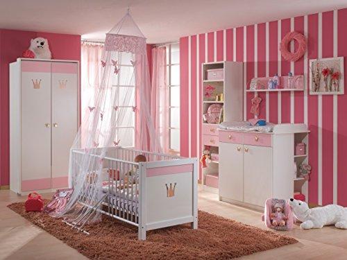 Babyzimmer Cinderella 3-teilig mit 2trg Schrank