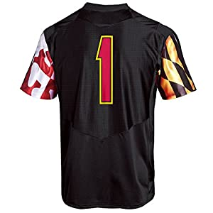 Under Armour NCAA Maryland Terrapins Men's Premier Sideline Replica Jersey, XX-Large, Black