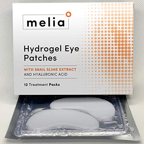 51ecAsyih L - MELIA Under Eye Patches Eye Mask for Puffy Eyes, Dark Circles and Under Eye Bags Treatment With Hyaluronic Acid and Snail Slime Extract
