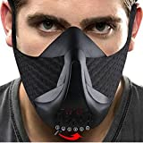 HARDK Sport Training Workout Mask - for Running Biking Training and Fitness, Achieve High Altitude Elevation Effects with 6 Level Air Flow Regulator