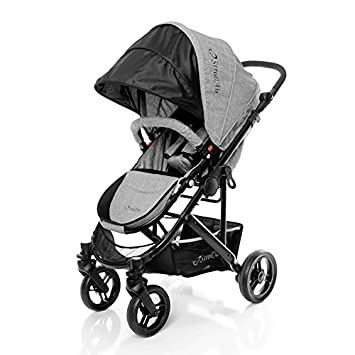 StrollAir 2017 Cosmos Single Stroller, Grey