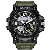 Men's Military Sport Digital Analog...