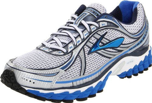 Brooks Men's Trance 11-M, Passat Grey/Strong Blue/Obsidian/White/Metallic, 9 D US