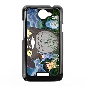 HTC One X Phone Case Black My Neighbor Totoro AFVT590471