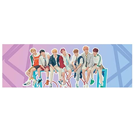 Nuofeng - BTS Bangtan Boys Blackpink Twice Fans Army Support Banner for  Party Concert Flag(3PCS-11)