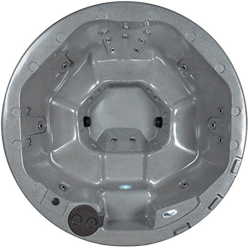 Essential Hot Tubs 20 Jets Arbor Hot Tub, Gray Granite