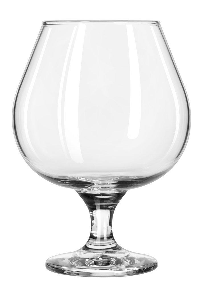 Libbey Glassware 3709 Embassy Brandy Glass, 22 oz. (Pack of 12)
