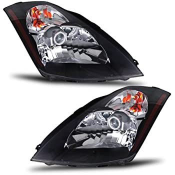 51ecDgh5gLL._SL500_AC_SS350_ amazon com anzo usa 121108 nissan 350z crystal black headlight 2006 350Z HID Headlights at gsmx.co