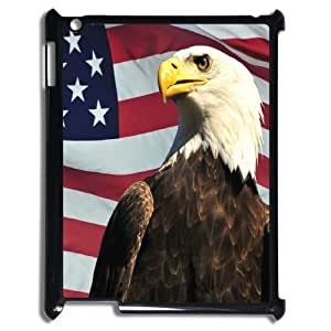 ALICASE Diy Cover Custom Case American Flag For IPad 2,3,4 [Pattern-1]