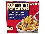 Jimmy Dean Meat Lovers Breakfast Bowl, 7 Ounce -- 8