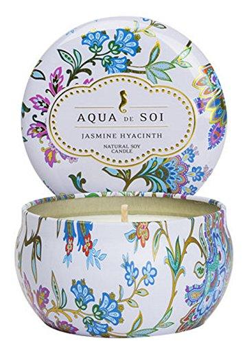 - SOI Company The Aqua de SOi 100% Premium Natural Soy Candle, 9 Ounces (Jasmine Hyacinth)