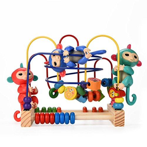 FANXING Interactive Baby Monkey Playset, Baby Monkey Jung...