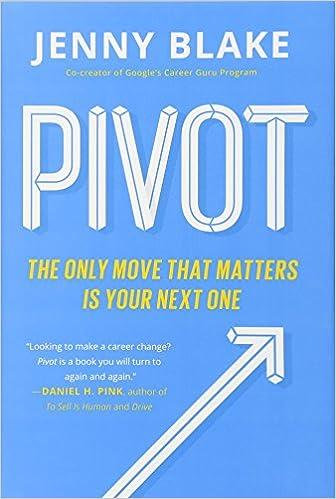 Pivot, Book