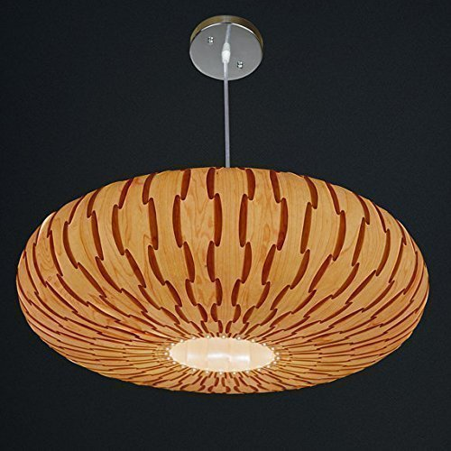 Handmade Umbrella Hanging 3-Light Pendant Lamp,made of real Maple veneer, Eco-friendly, design lamp, pendant lamp, dining rood, bedroom, wood veneer l…