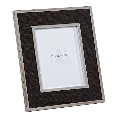 "Ethan Allen Charcoal Wool Photo Frame, 8"" x 10"""
