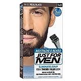 JUST FOR MEN Color Gel Mustache & Beard M-55 Real