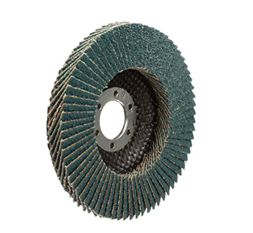 SAIT 78005 Ovation Flap Disc, 4-1/2-Inch by 7/8-Inch, 36 Grit, 10-Pack by United Abrasives, Inc. (Image #2)
