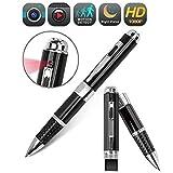 Amomb Spy Pen Hidden Camera, HD 1080P Hidden Camera Pen Portable Multifuntional Writing Pen Mini Camera