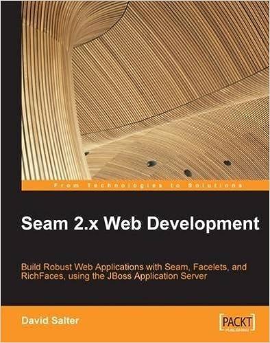 Book Seam 2.x Web Development by Salter, David (2009)